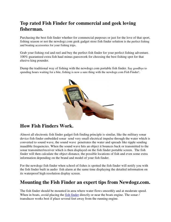 Top rated fish finders for Best rated fish finder