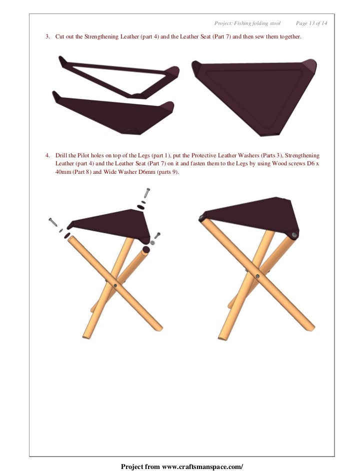 Pleasing Fishing Folding Stool Free Woodworking Plan Creativecarmelina Interior Chair Design Creativecarmelinacom
