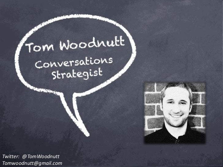 Twitter: @TomWoodnuttTomwoodnutt@gmail.com