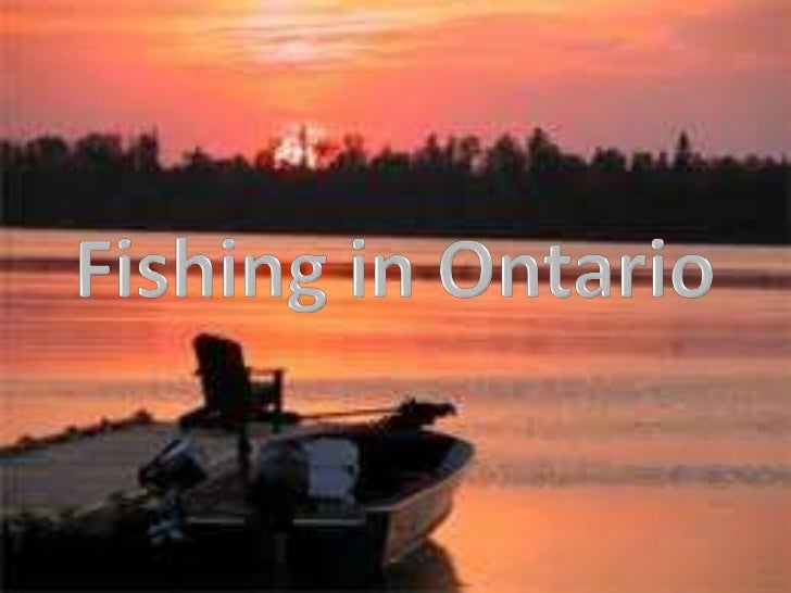 Fishing in Ontario<br />