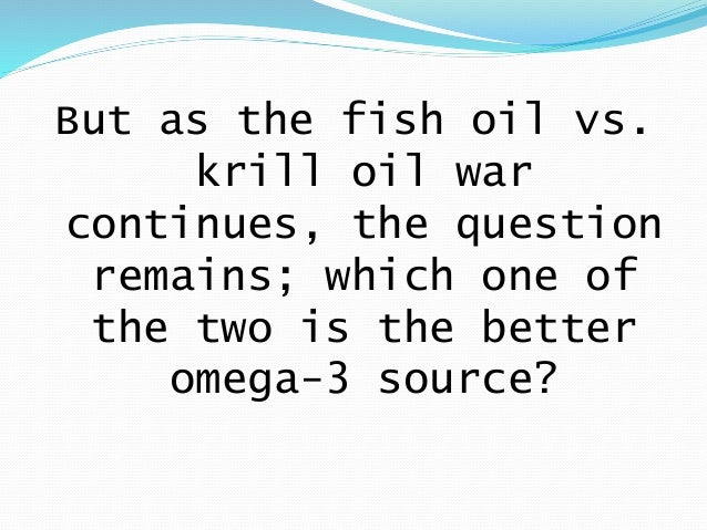 Fish oil vs krill oil for Is krill oil the same as fish oil