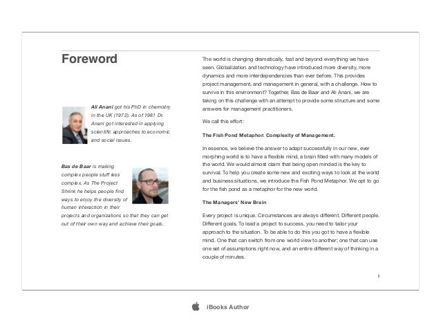 Foreword ii The world is changing dramatically, fast and beyond everything we have seen. Globalization and technology have...