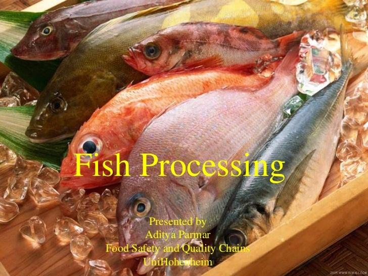 Fish Processing          Presented by          Aditya Parmar  Food Safety and Quality Chains         UniHohenheim