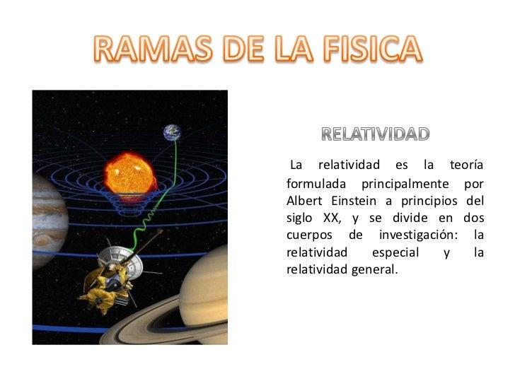 RELATIVIDAD<br />La relatividad es la teoría formulada principalmente por Albert Einstein a principios del siglo XX, y se ...