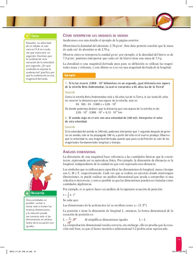 F sica 1 bgu for La pagina del ministerio