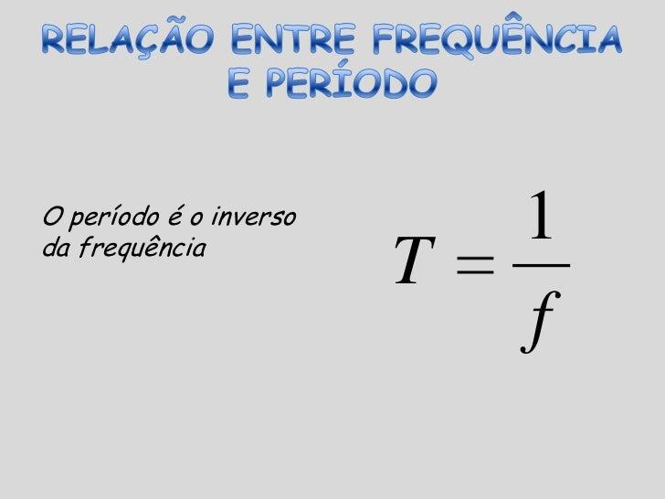 FREQUÊNCIA (f)<br />A frequência representa quantas oscilações completas uma onda dá a cada segundo.<br />