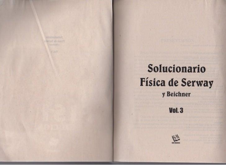 Física   serway vol.3 (solucionario) Slide 3
