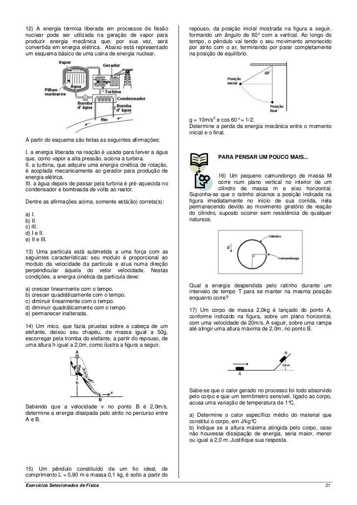 Fisica nuclear exercicios