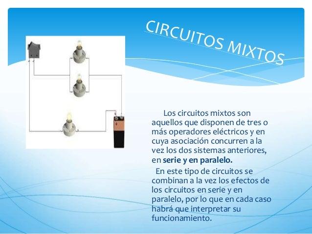 Circuito Electrico En Serie : Fisica circuitos en serie paralelos y mixtos