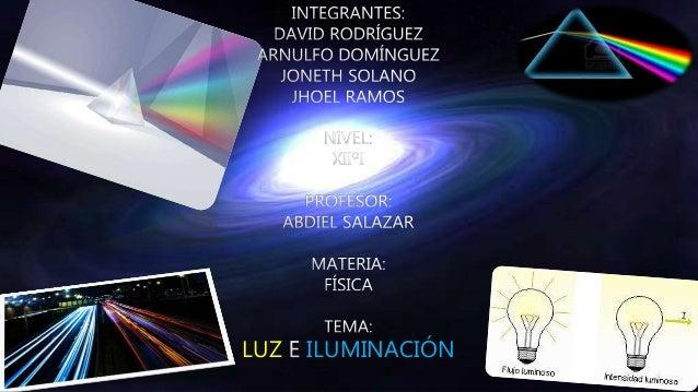 fisica luz e iluminacion