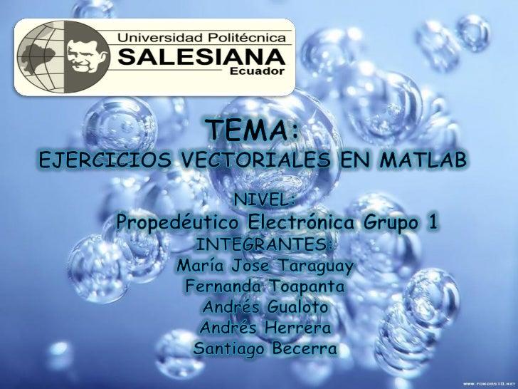 1.-EL EJERCICIO A RESOLVER ES:            (UD*2C)+C/(A+B)*(D+C).PARA EMPEZAR A TRABAJAR EN EL MATLAB SE PROCEDE A INGRESAR...