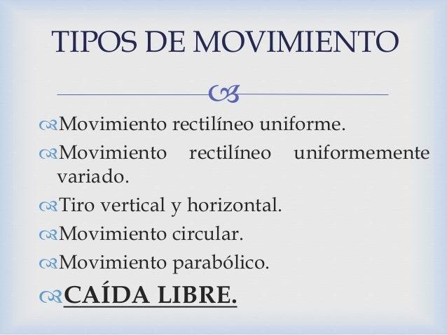 Tipos de movimiento en fisica - Tipos de sensores de movimiento ...