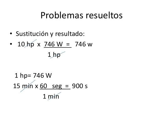 fisica problemas potencia mecanica resueltos y propuestos