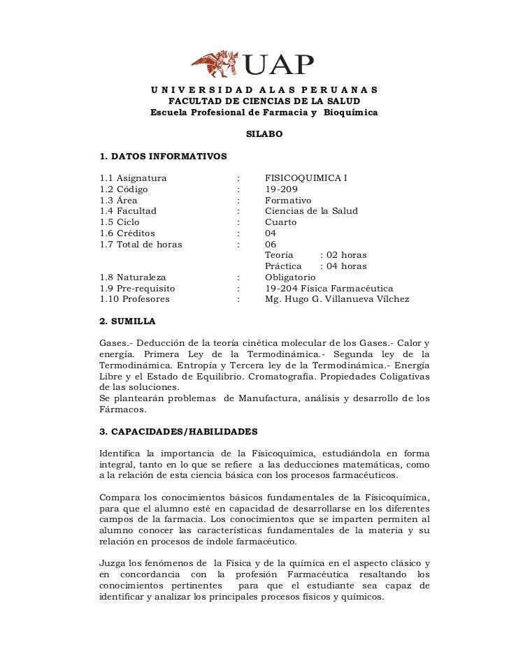 UNIVERSIDAD ALAS PERUANAS                FACULTAD DE CIENCIAS DE LA SALUD             Escuela Profesional de Farmacia y Bi...