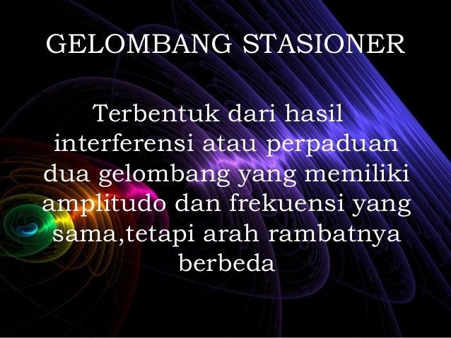 Gelombang Stasioner Slide 2