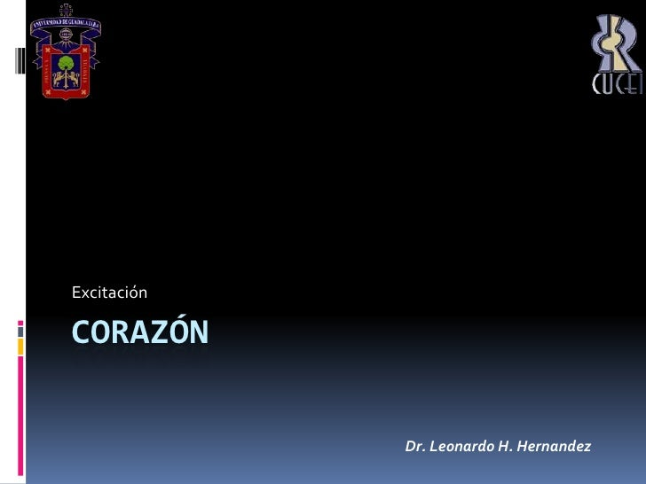 Corazón<br />Excitación<br />Dr. Leonardo H. Hernandez<br />