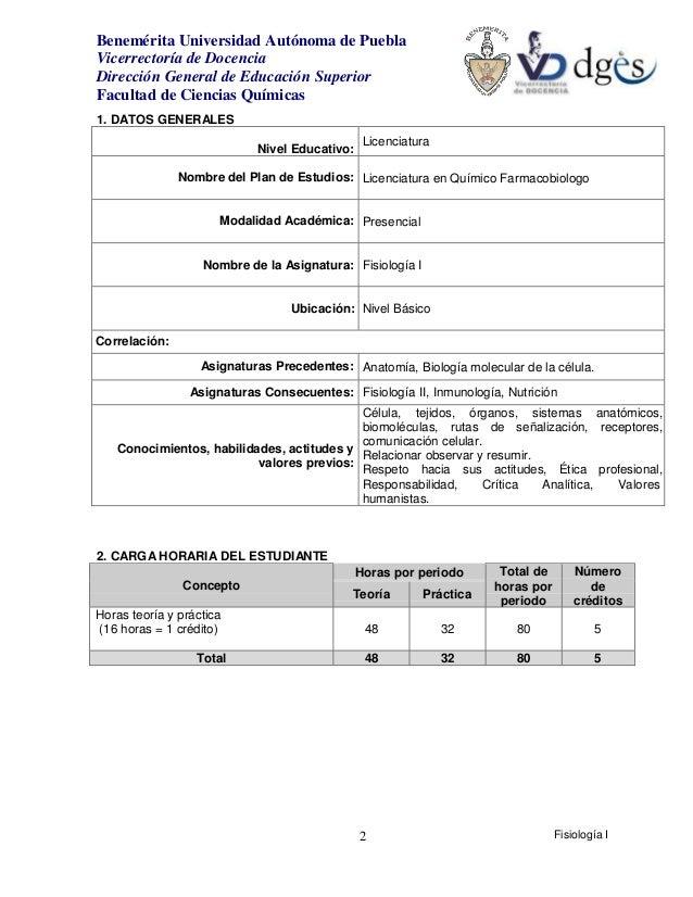 Moderno Anatomía Y Fisiología Plan De Estudios Colección de Imágenes ...