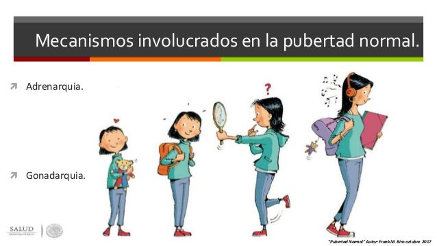 Fisiologia de la pubertad y pubertad precoz