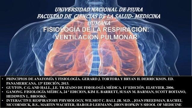Fisiologia de la respiración ventilacion pulmonar