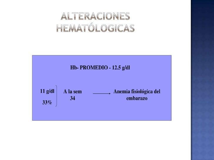 CAMBIOSHEMATOLÓGICOS<br />