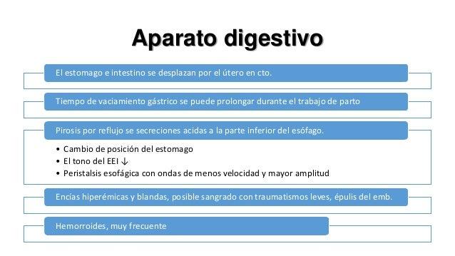 Vesícula biliar  ↓ la contractilidad de la vesícula biliar y ↑ del volumen residual  La colestasis se ha vinculado con niv...