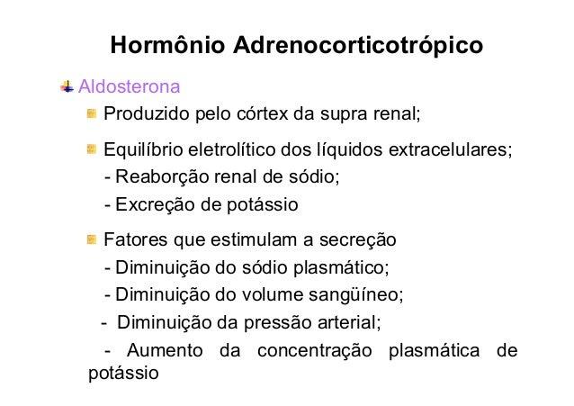 Aldosterona e Exercício • Mecanismo Renina-Angiotensina 1. A atividade muscular – transpiração;  2. Transpiração – reduz o...