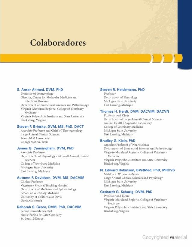 Cunningham, Fisiologia veterinaria, cuarta edición