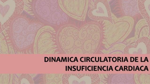 DINAMICA CIRCULATORIA DE LA INSUFICIENCIA CARDIACA