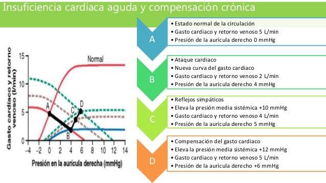 Insuficiencia cardiaca aguda y compensación crónica A •Estado normal de la circulación •Gasto cardiaco y retorno venoso 5 ...