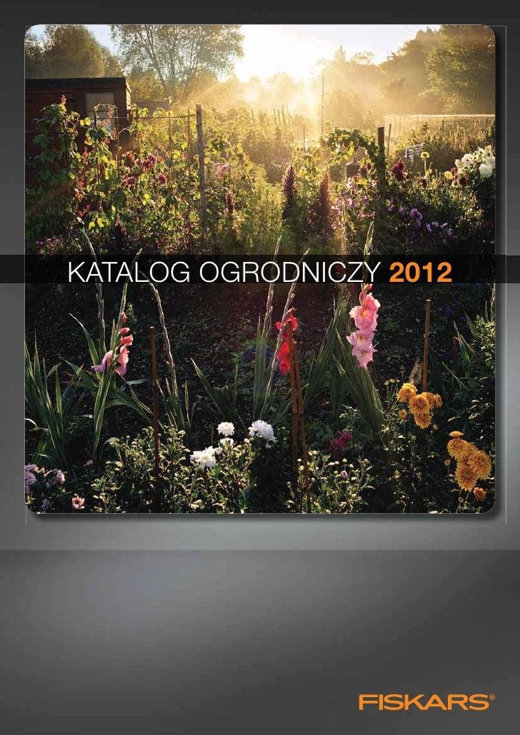 KATALOG OGRODNICZY 2012