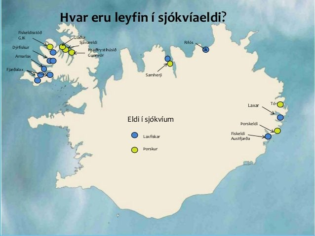 Hver er staða rekstraleyfa í fiskeldi? Útgefnin rekstrarleyfi eru 42 þús. tonn Rekstrarleyfi til sjókvíaeldis eru 16 þús á...