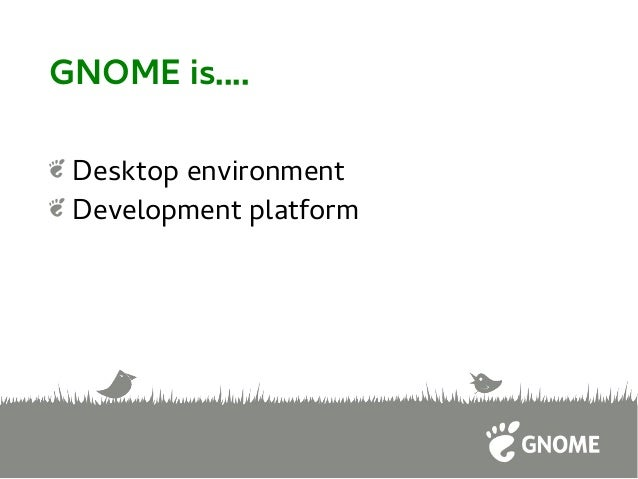 Developing GNOME Apps in Javascript Slide 3