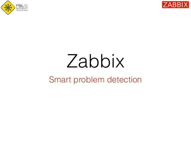 Zabbix Smart problem detection