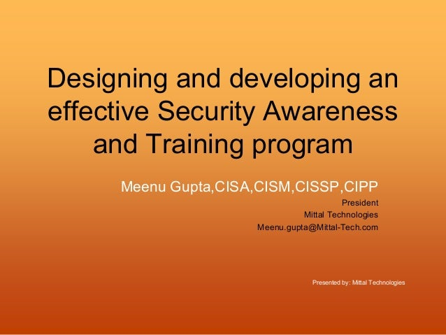 designing effective training programs essay Designing effective training the training design process refers to a systematic approach for developing training programs figure 11 presents the seven steps in this process step 1 is to conduct a needs assessment, which is necessary to identify whether training is needed.