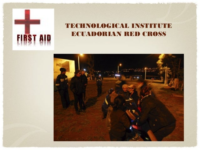 TECHNOLOGICAL INSTITUTE ECUADORIAN RED CROSS