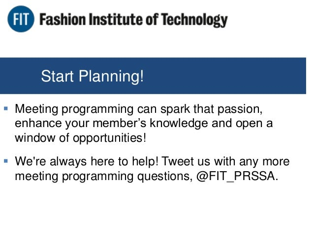 Fashion Institute Of Technology Speed Dating