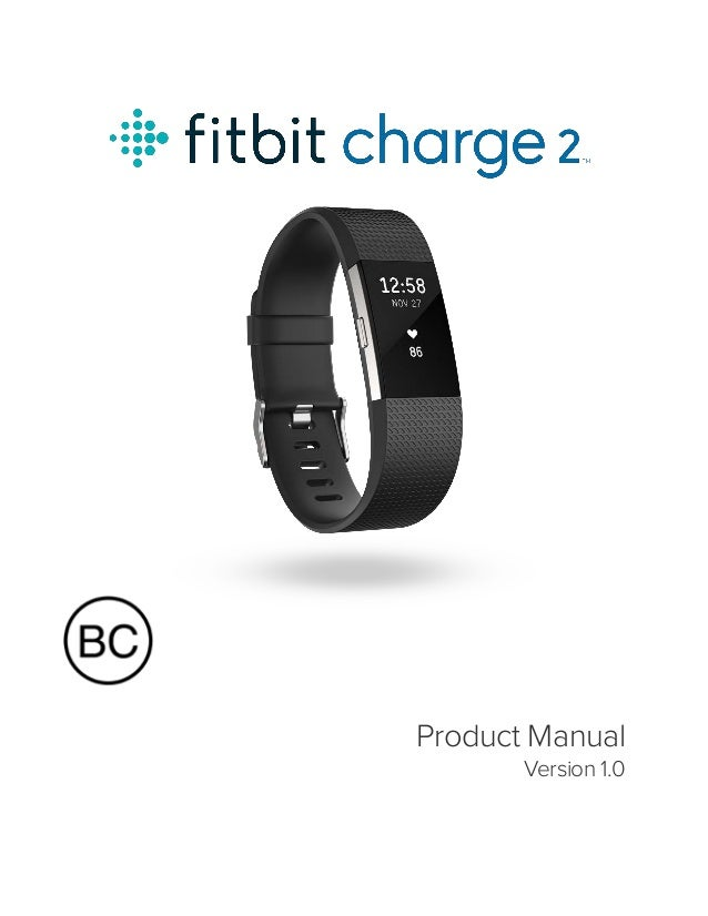 fitbit charge 2 user manual