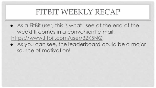 fitbit presentation, Presentation templates