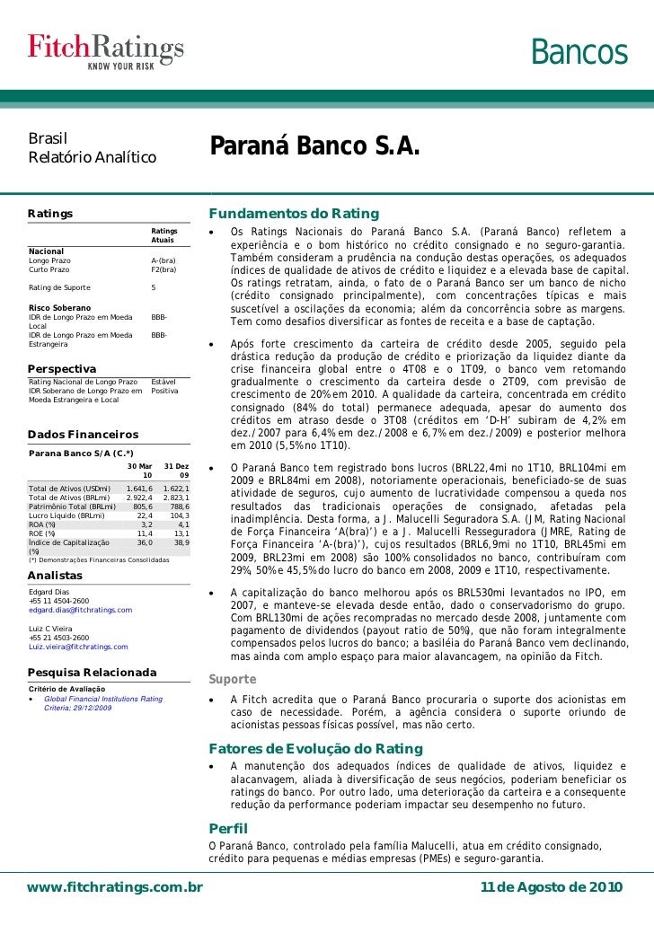 Fitch Rating 2010 08-port