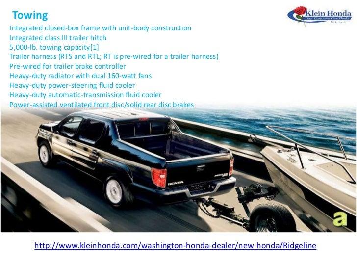 fit for the rough ride the 2012 honda ridgeline rh slideshare net The Problems with Honda Ridgeline Honda Ridgeline 4WD Drivetrain