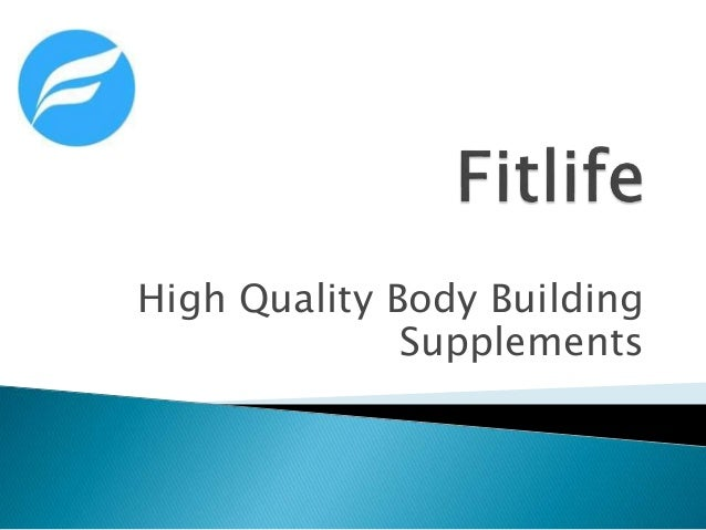 High Quality Body Building Supplements