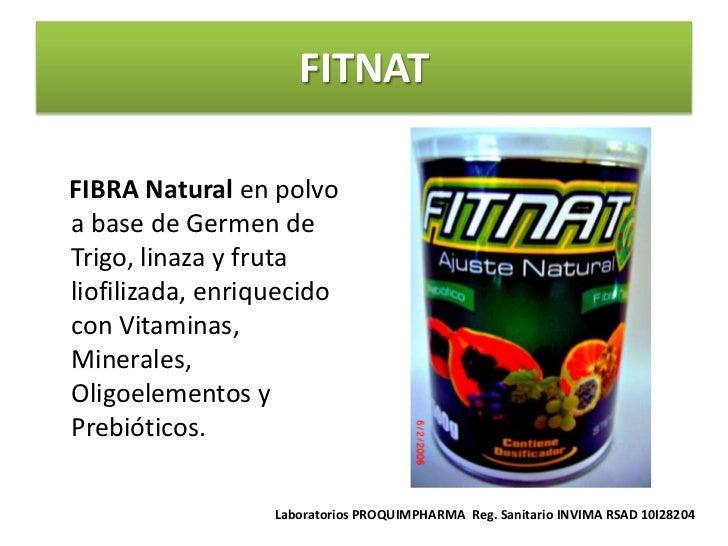 FITNATFIBRA Natural en polvoa base de Germen deTrigo, linaza y frutaliofilizada, enriquecidocon Vitaminas,Minerales,Oligoe...