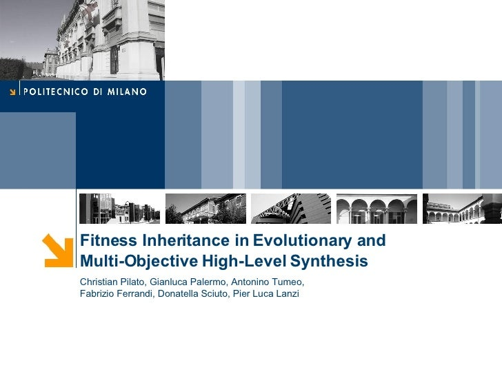 Fitness inheritance in evolutionary and