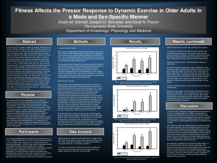 Fitness Affects the Pressor Response to Dynamic Exercise in Older Adults in                                      a Mode an...
