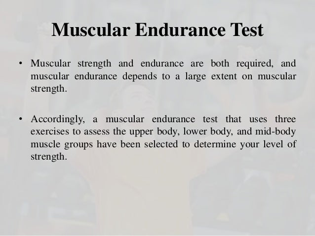 how to test upper body muscular strength