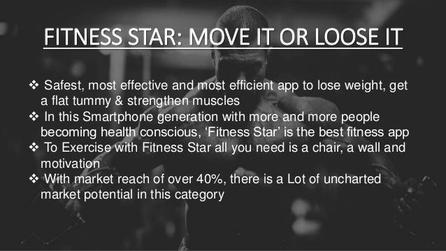 Fitness Star - An Android app marketing plan Slide 3