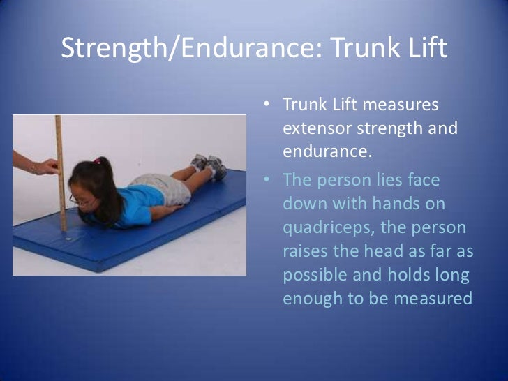 Fitnessgram Powerpoint