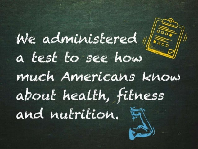 Americans are Flunking Fitness Slide 2
