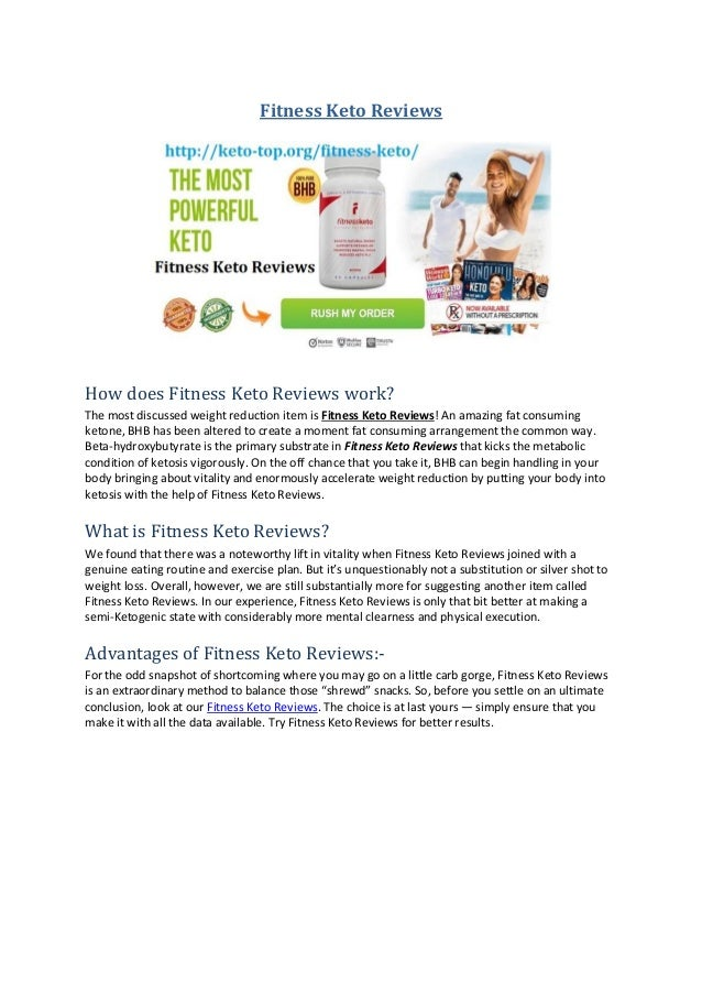 Fitness Keto Reviews How does Fitness Keto Reviews work? The most discussed weight reduction item is Fitness Keto Reviews!...