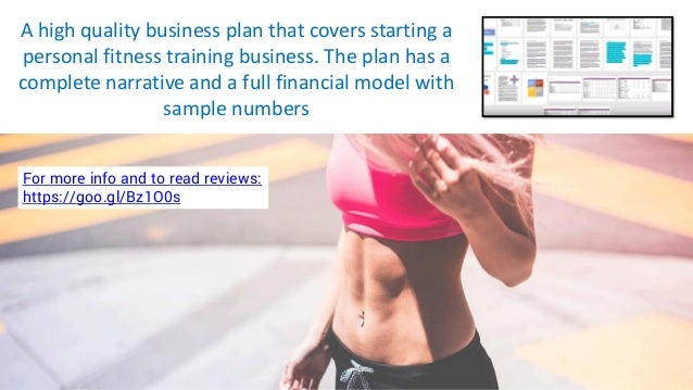 personal fitness trainer business plan pdf